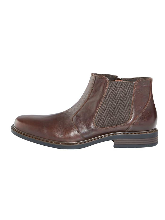 Chelsea obuv s praktickým vnútorným zipsom