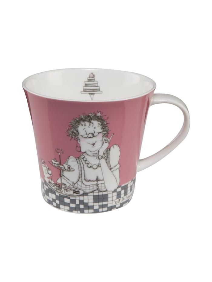 Goebel Goebel Coffee-/Tea Mug Barbara Freundlieb - Zwei Diäten, Zwei Diäten