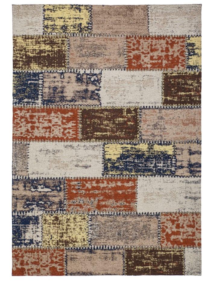 Kayoom Vintage Teppich Finley, Bunt