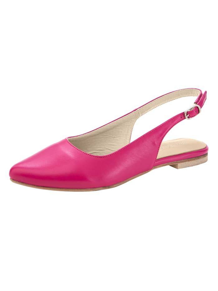 Teräväkärkiset sling-kengät