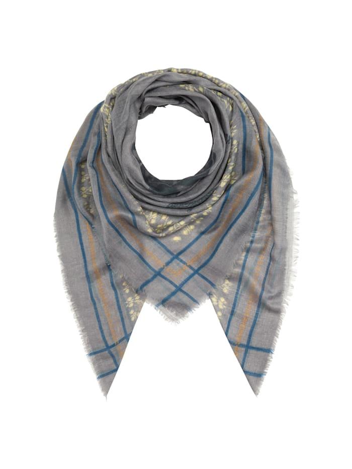 Codello Premium Leo-Tuch aus Modal und Seide, grey