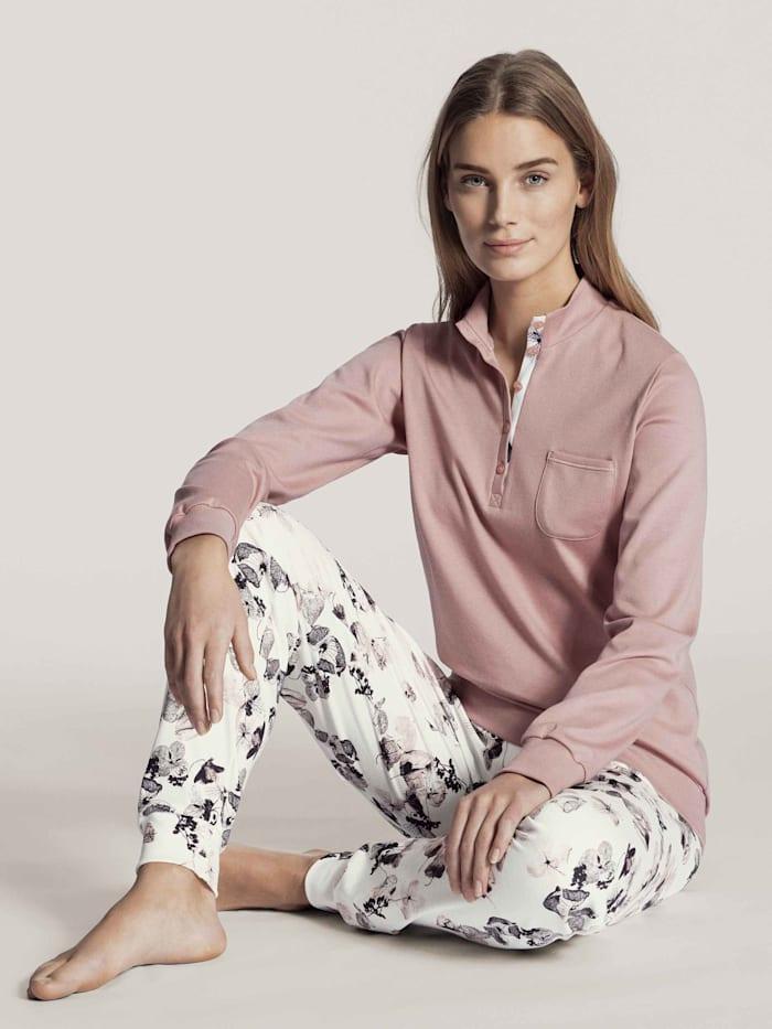 Bündchen-Pyjama STANDARD 100 by OEKO-TEX zertifiziert