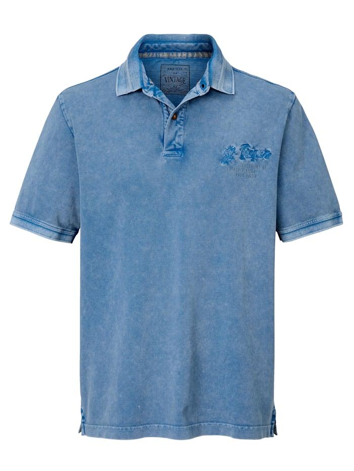 Poloshirt im Vintage-Style