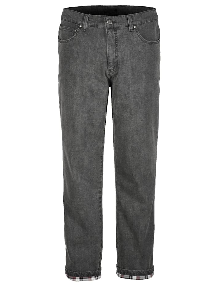 BABISTA Thermojeans met warme thermovoering, Grijs