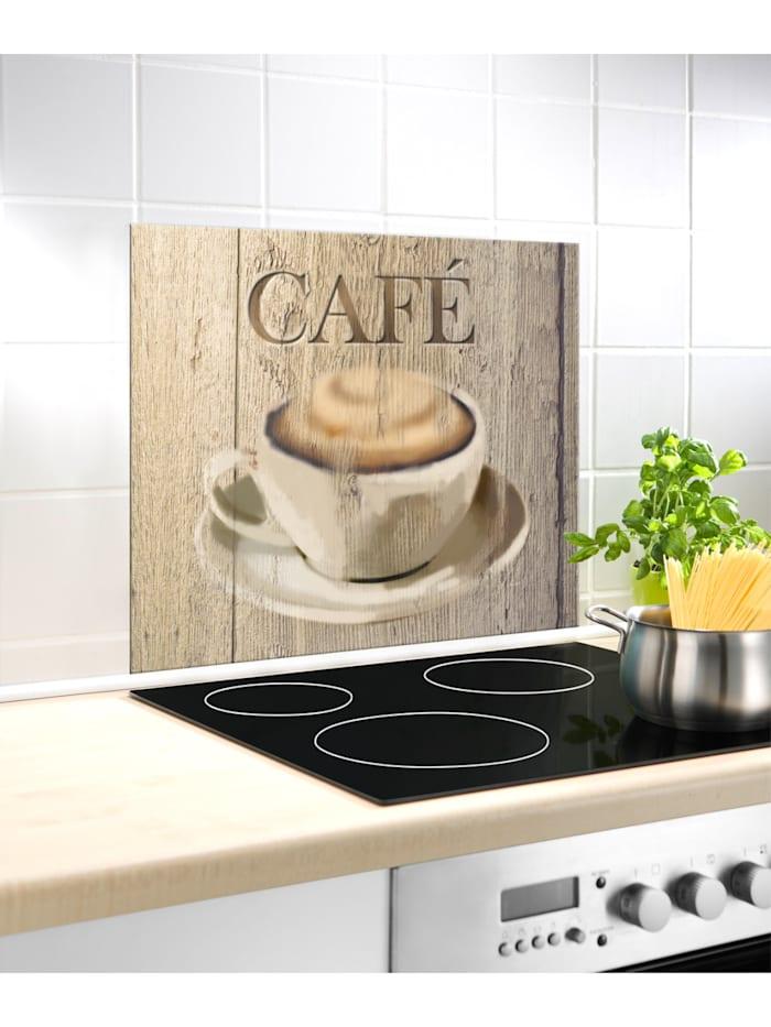 Glasrückwand Café 60 x 50 cm