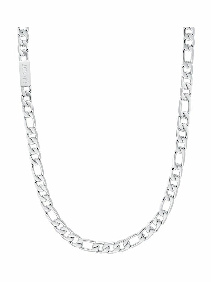 JOOP! Halskette für Herren, Edelstahl, Silber