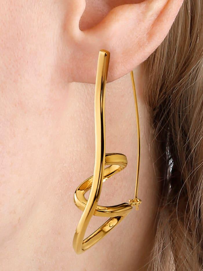 Örhängen i krumelurig design