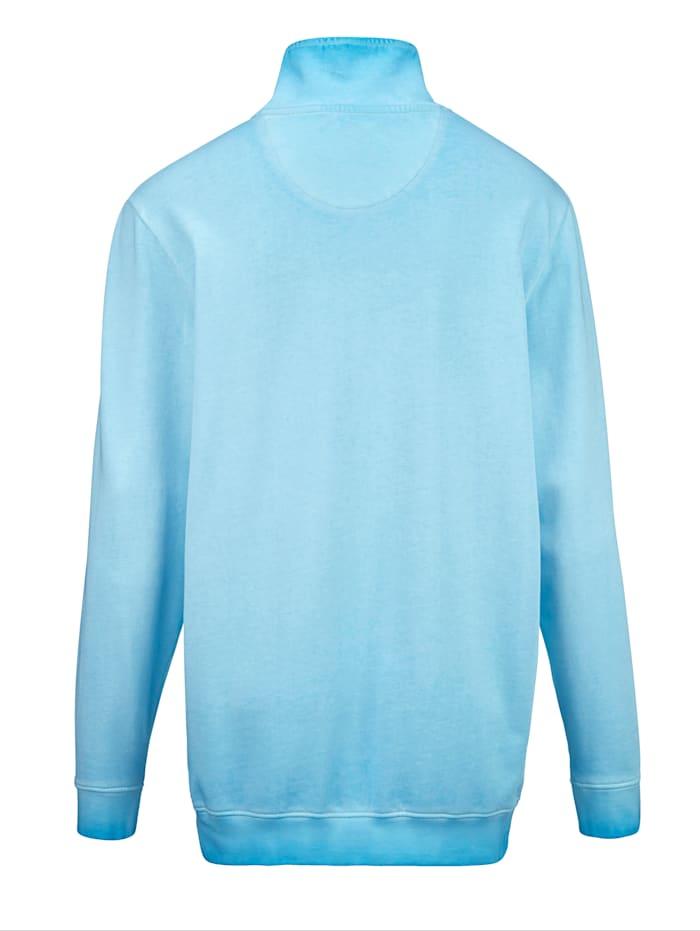 Sweatshirt in modischem Used-Look