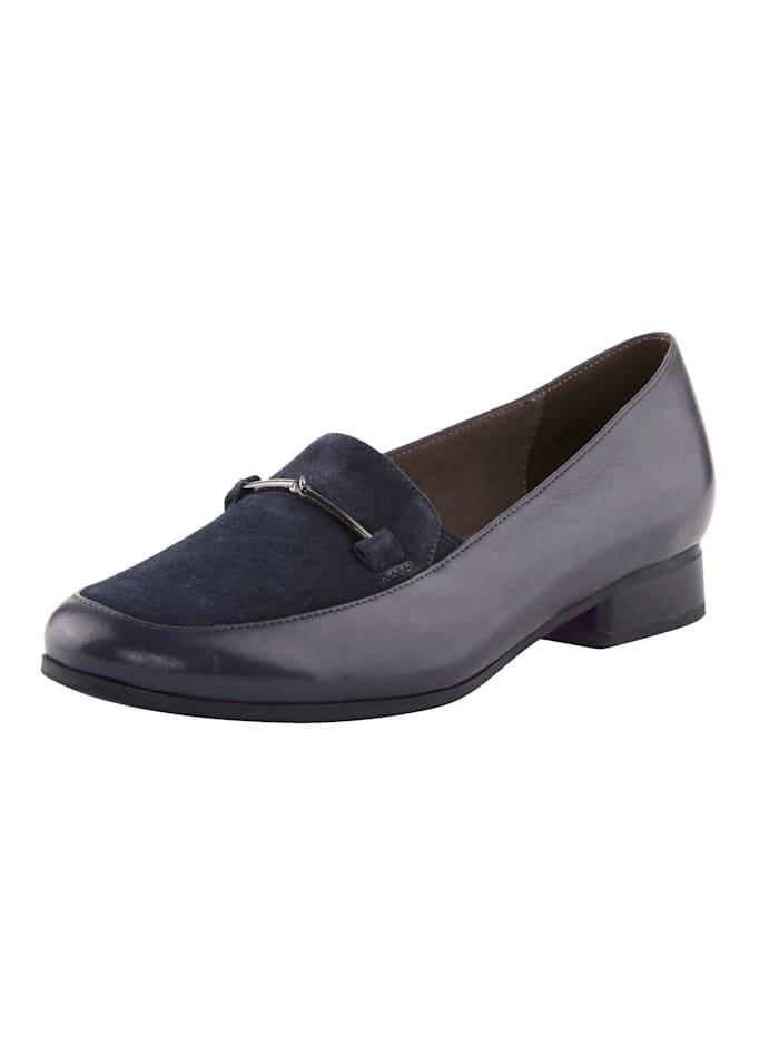 MONA Loafers, Dark Blue
