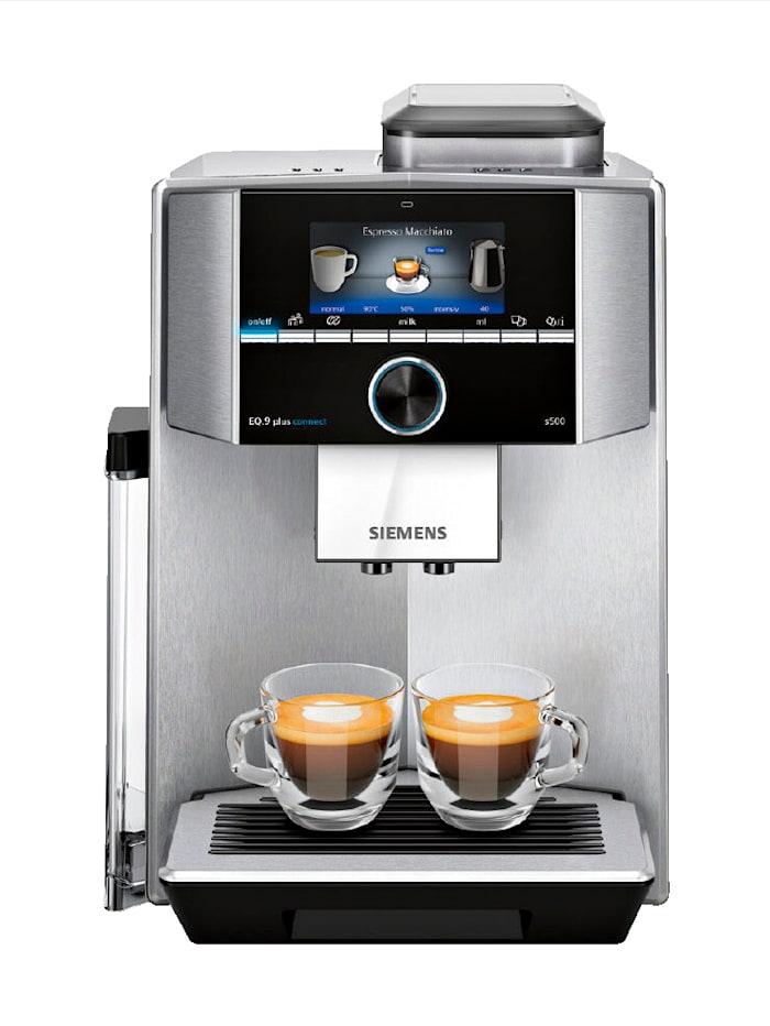 Siemens Kaffeevollautomat EQ.9 plus connect s700, Edelstahl