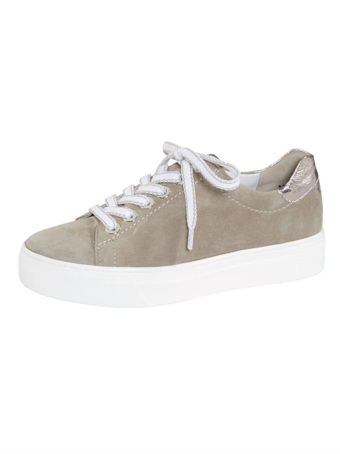Semler Šněrovací boty s módní platformovou podrážkou, Khaki