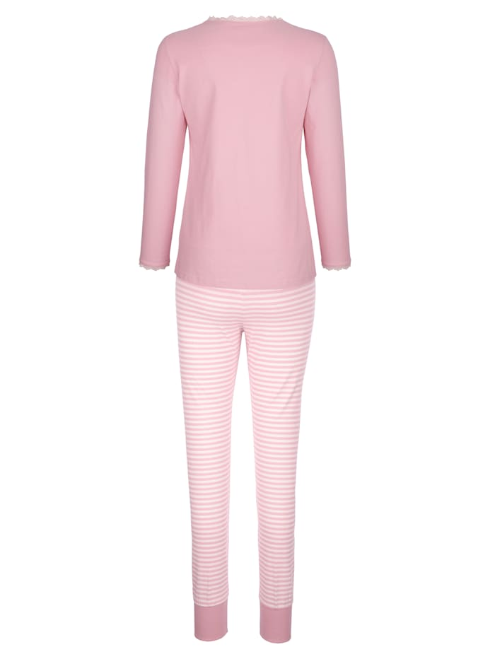 Pyjama à poche poitrine
