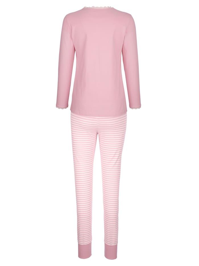 Pyjamas med bröstficka
