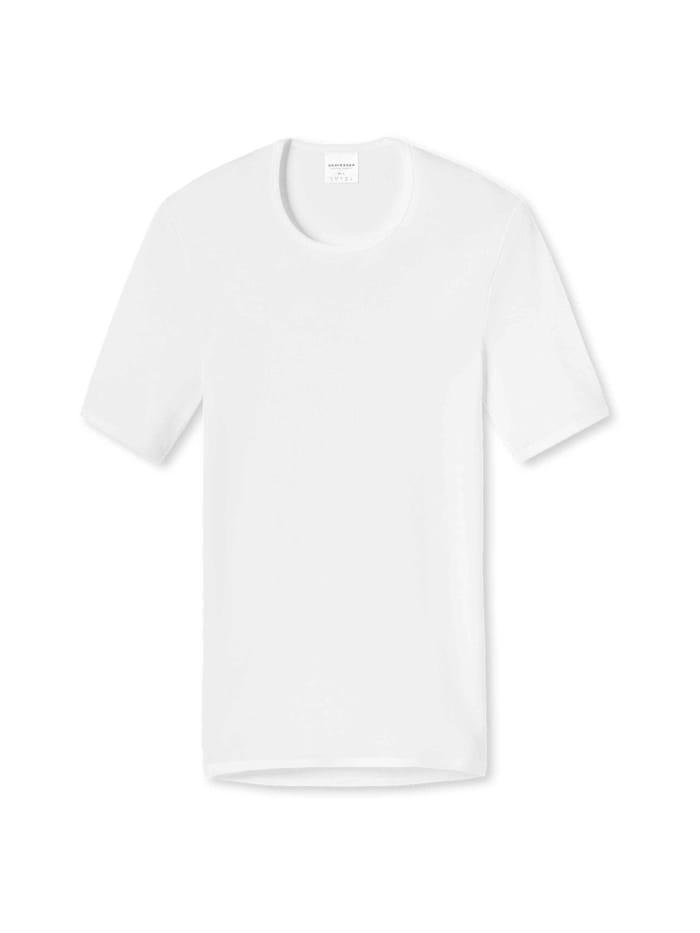 Schiesser Shirt halbarm, Weiß