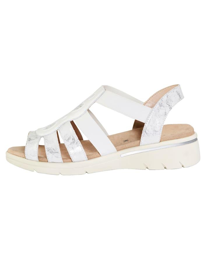 Sandale mit schöner Verzierung