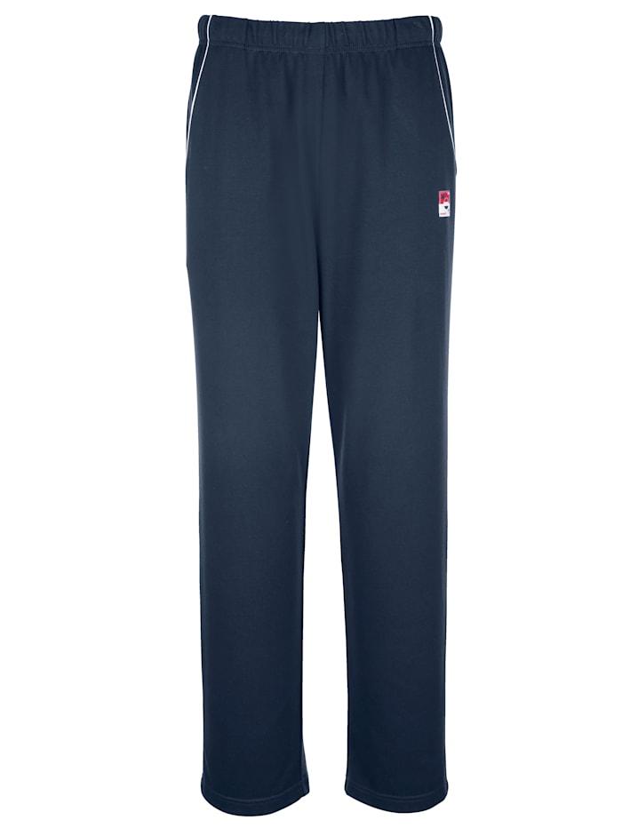 Pantalon de loisirs, Bleu