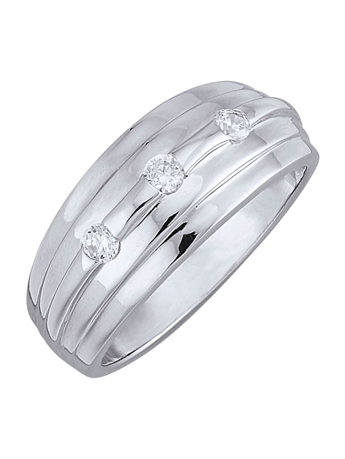 Ring, Silverfärgad