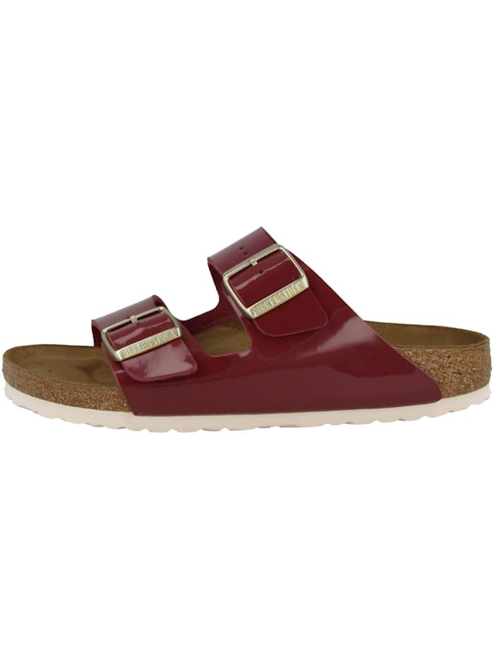 Birkenstock Sandale Arizona Birko-Flor Lack schmal, rot