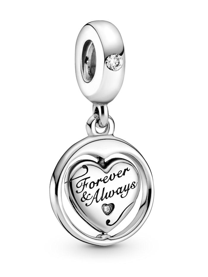 Pandora Charm-Anhänger, 925 -Für immer und ewig- 799266C01, Silberfarben