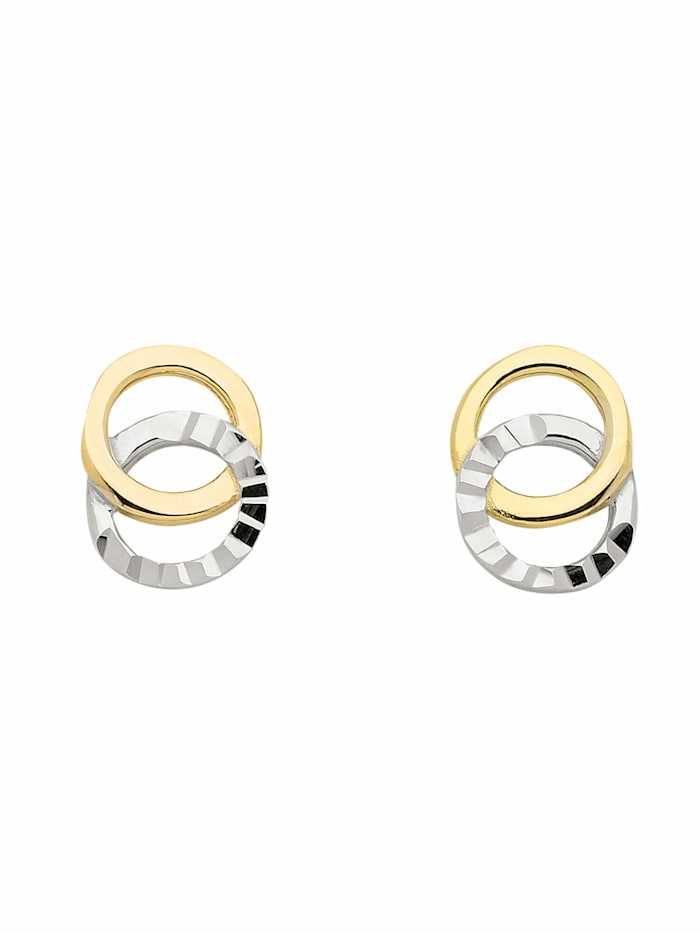 1001 Diamonds 1001 Diamonds Damen Goldschmuck 333 Gold Ohrringe / Ohrstecker, gold