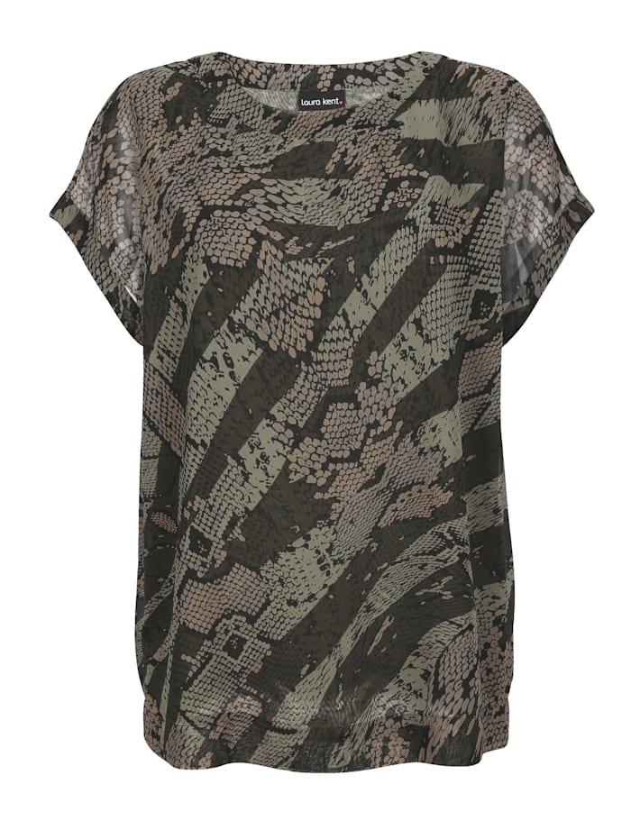Bluse mit schönem Print
