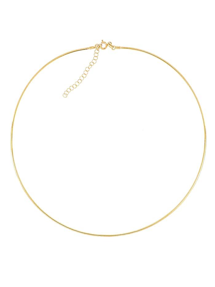 Grazielli Vändbart halsband i guld 9 k, Guldfärgad