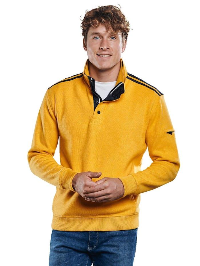 Engbers Auffälliges Sweatshirt, Rapsgelb