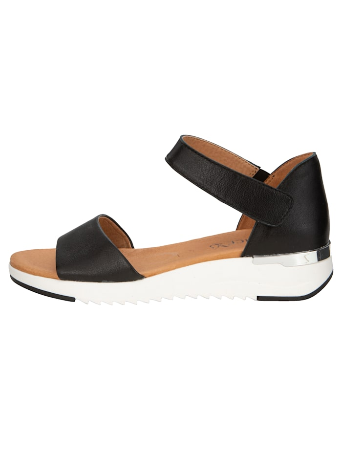 Sandaler med reglerbar kardborrerem