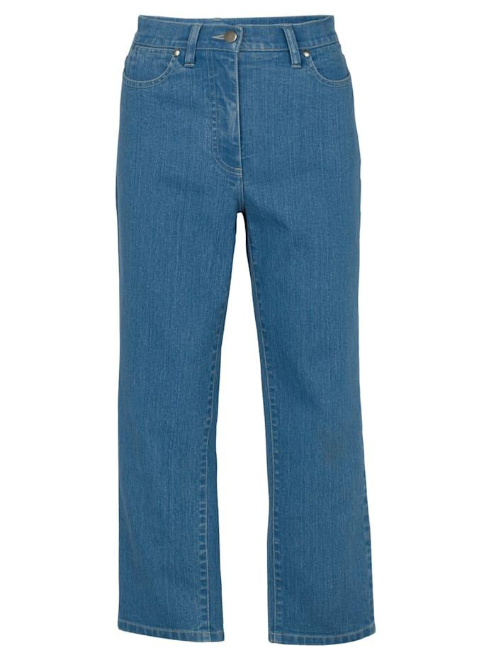 Artigiano Ultimate cropped jeans in a flattering cut, Blue