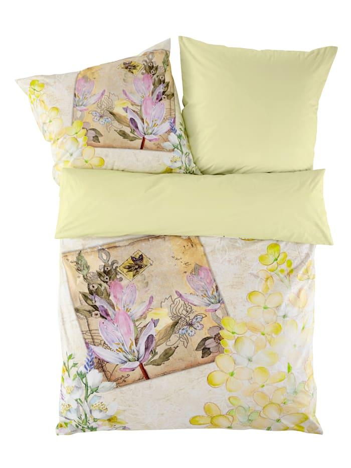 Webschatz Renforce posteľná bielizeň Irma 2-d., biela/pestrá