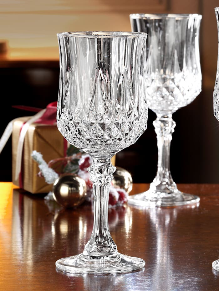 Creatable Ensemble de verres Longchamp, Incolore