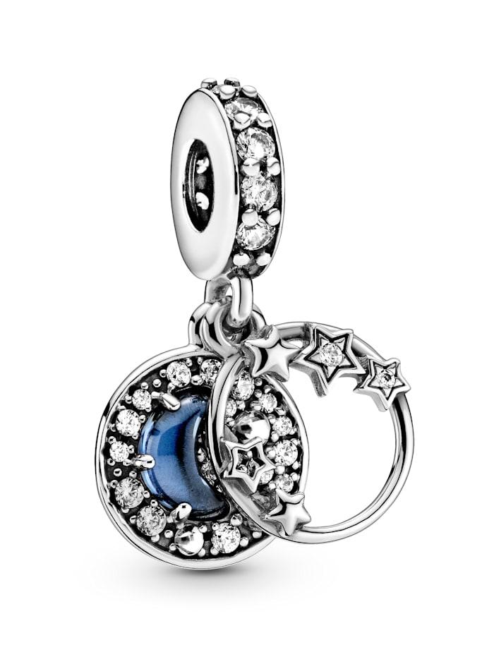 Pandora Charm-Anhänger -blauer Nachthimmel 799216C01, Silberfarben