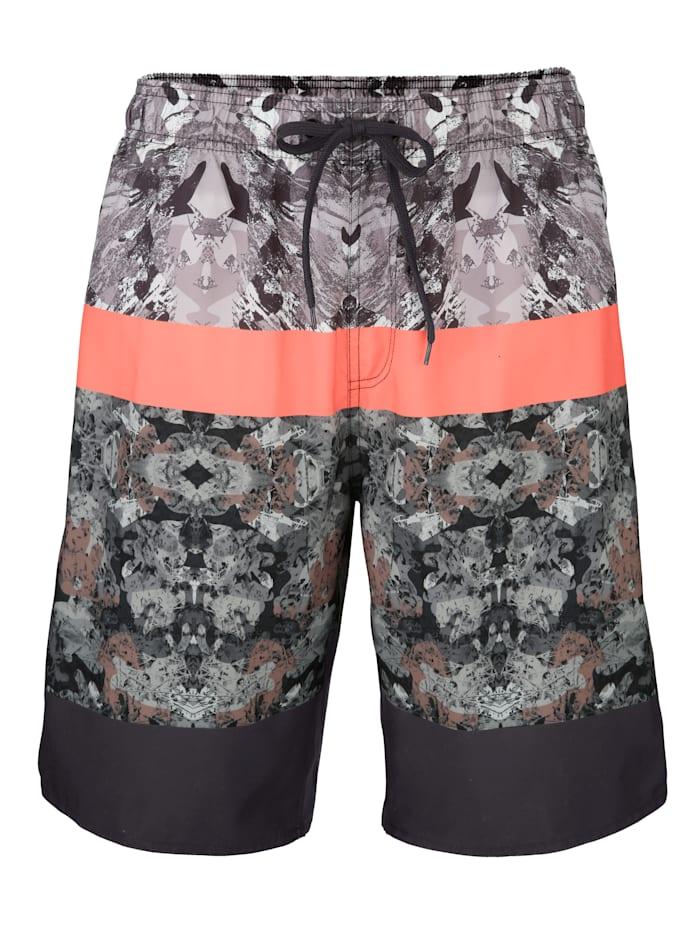 Zwemshort met trendy print