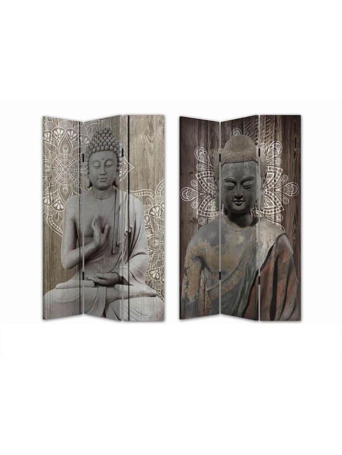 Paravent Buddha 3