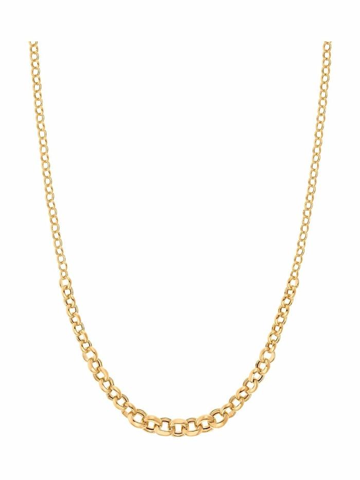 JOOP! Collier für Damen, Sterling Silber 925 vergoldet, Gold