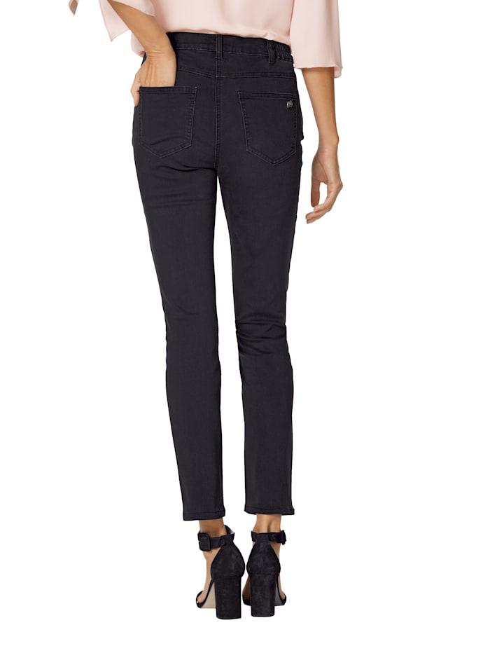 Jeans met strassteentjes voor