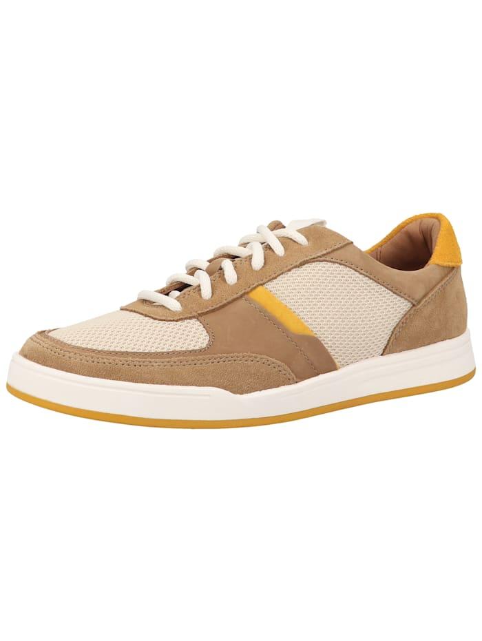 Clarks Clarks Sneaker Clarks Sneaker, Braun/Gelb