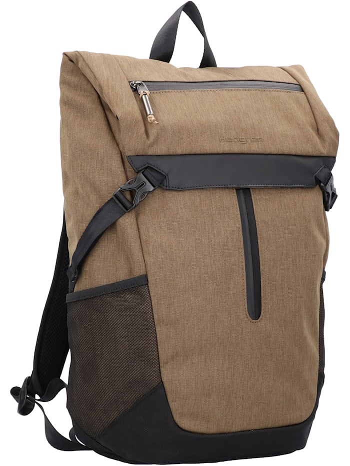 Hedgren Midway Relate Rucksack 45 cm Laptopfach, beech khaki