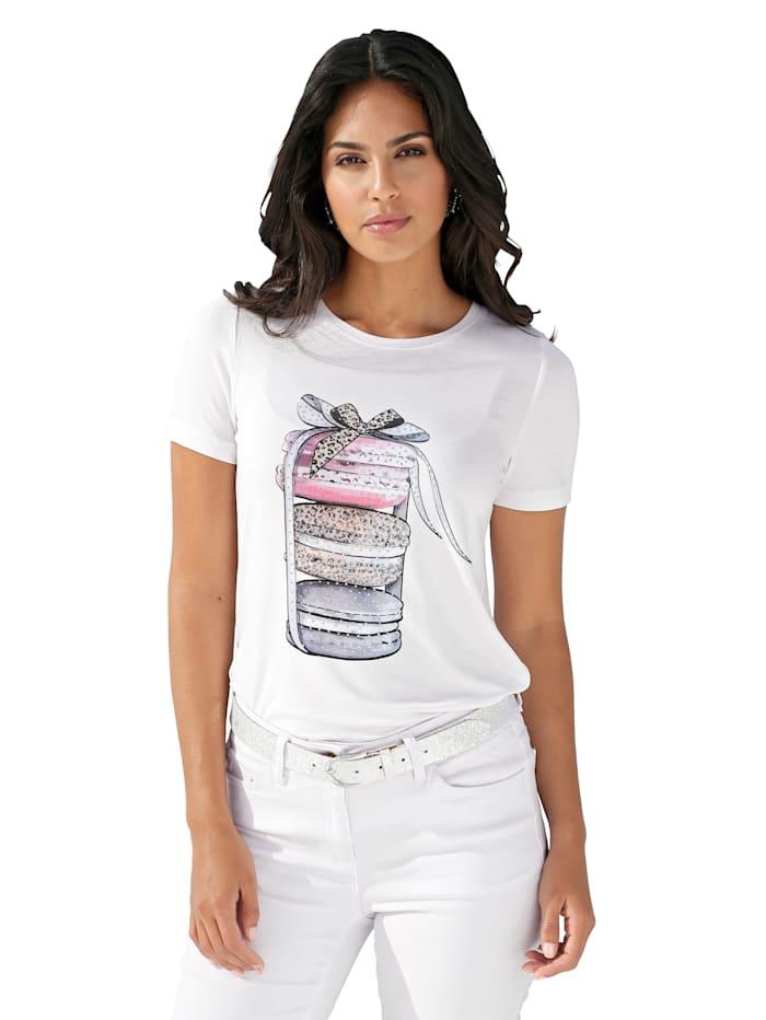 AMY VERMONT Painokuvioitu paita, Valkoinen