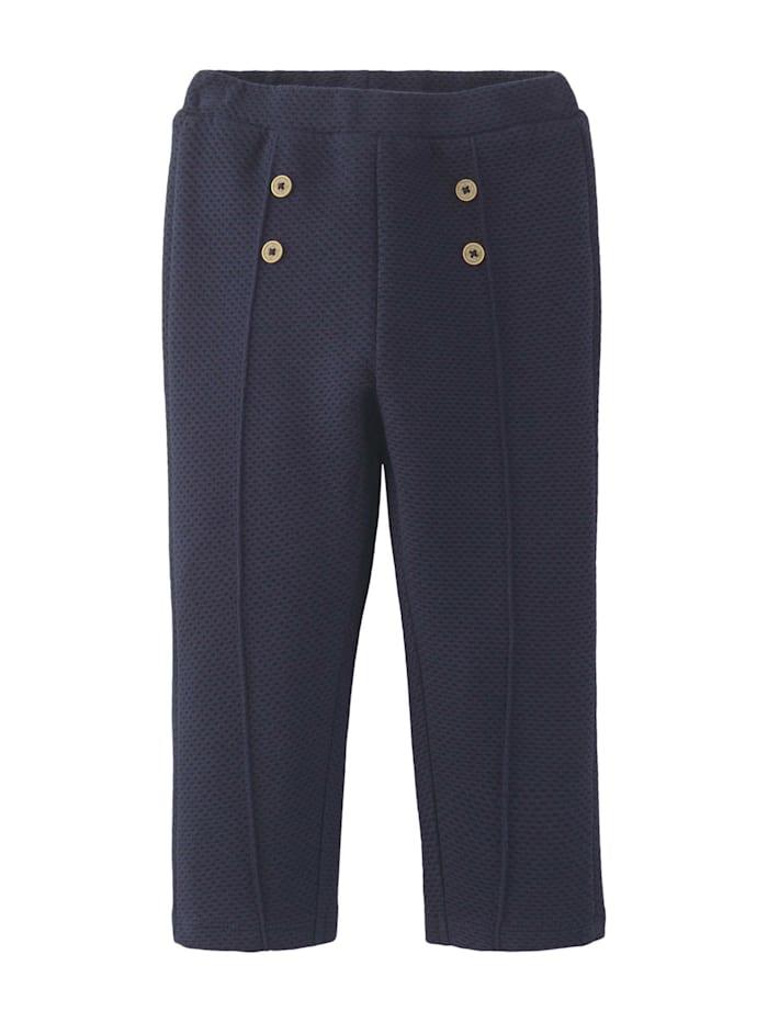 Tom Tailor Jogginghose mit Zierknöpfen, navy blazer|blue