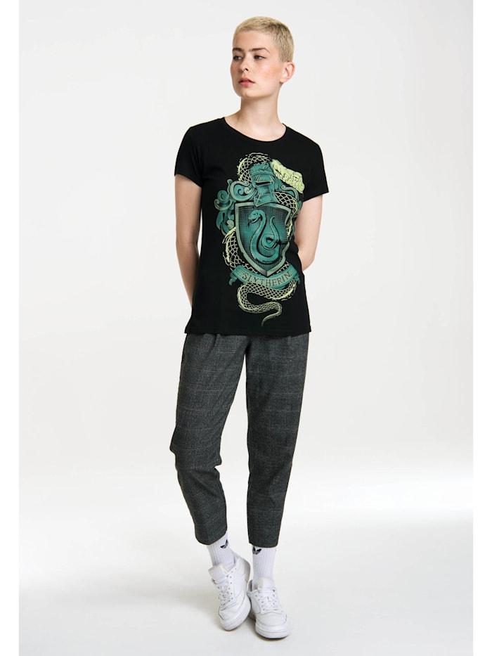 Logoshirt T-Shirt Harry Potter mit coolem Print, schwarz