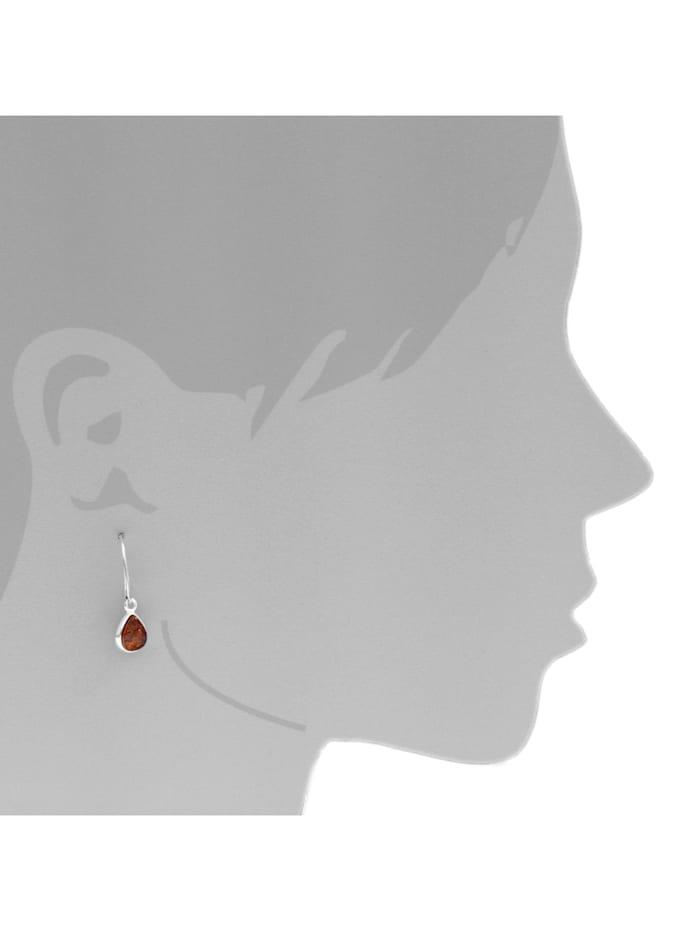 Ohrhänger - Enela - Silber 925/000 - Bernstein