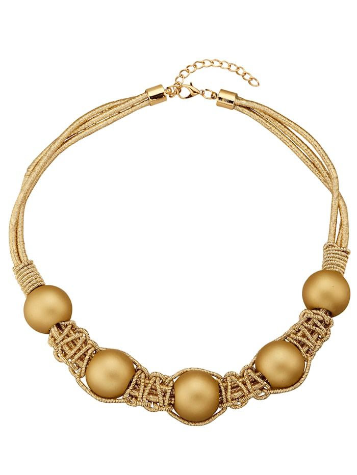 Necklace, Yellow gold coloured