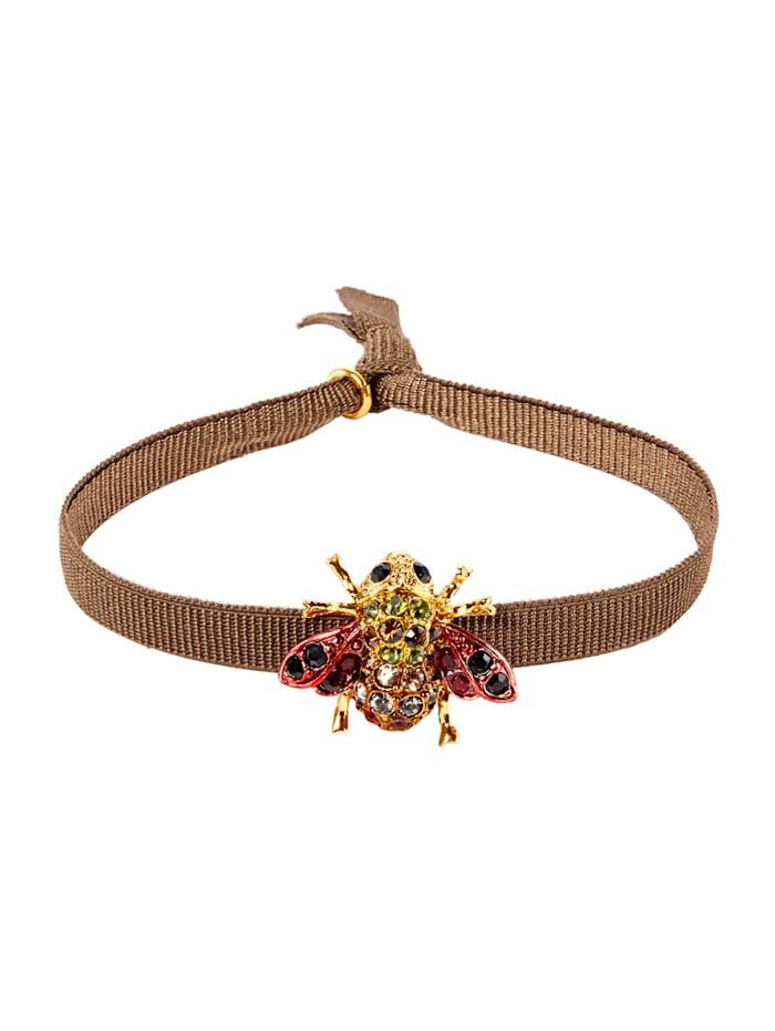 lua accessories Armband, Braun