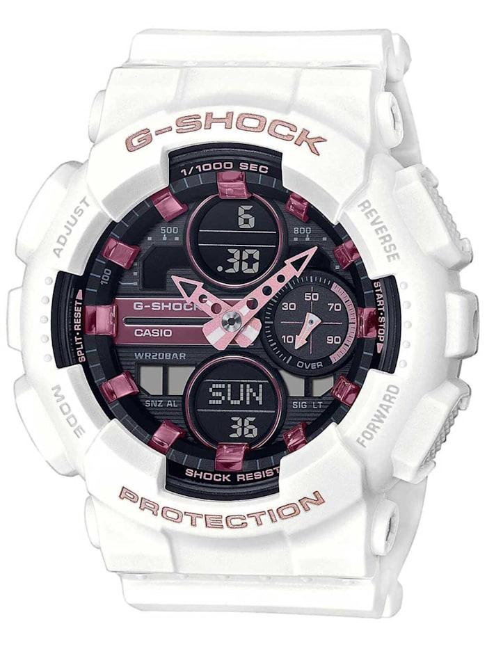 Casio G-Shock Woman Classic Damen-Digitaluhr Weiß, Schwarz