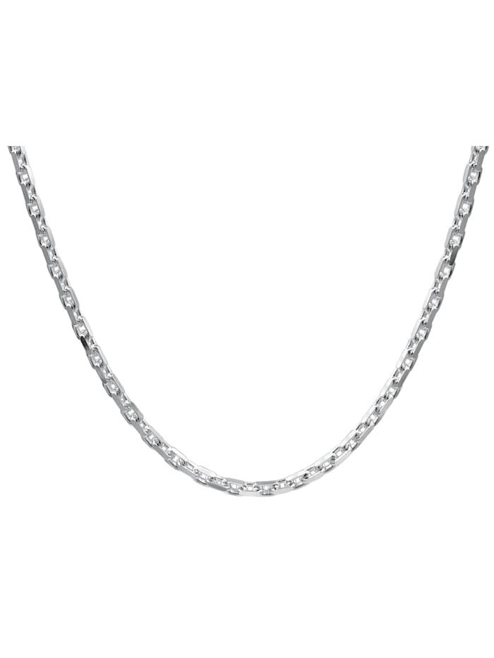 Silberkette für Herren 925 Sterlingsilber Ankerkette 3,0 mm
