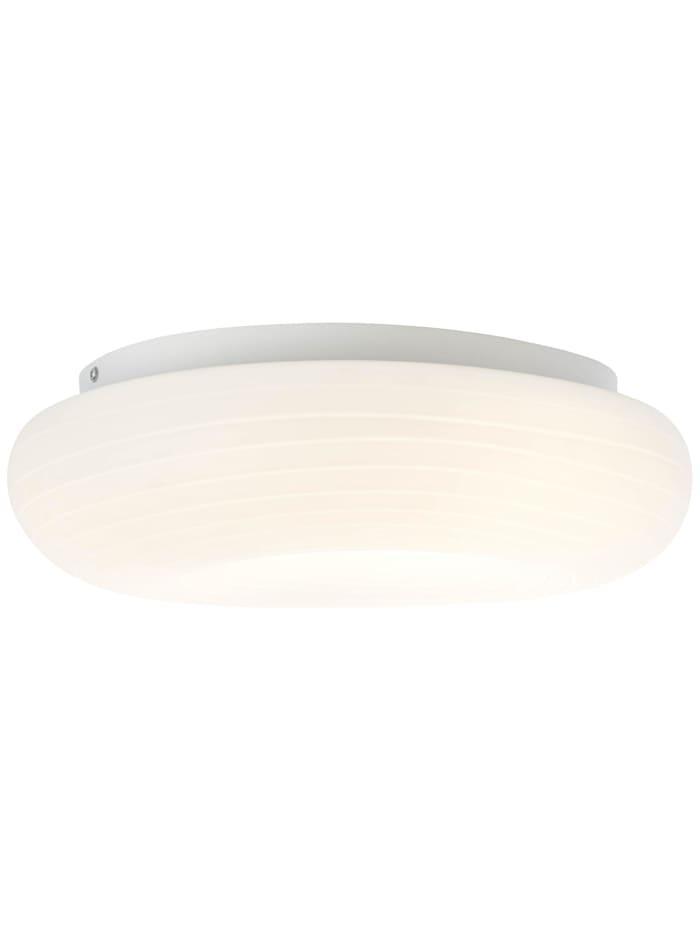 Brilliant Pebbles LED Deckenleuchte 48x34cm weiß, weiß