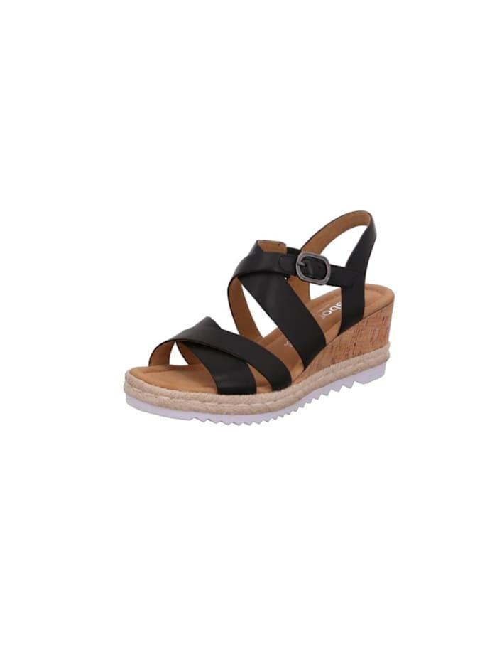 Gabor Sandalen/Sandaletten, schwarz