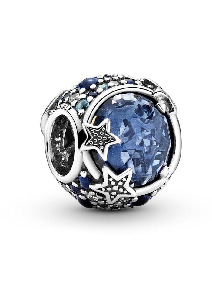 Pandora Charm -Blaue funkelnde Sterne- 799209C01, Silberfarben