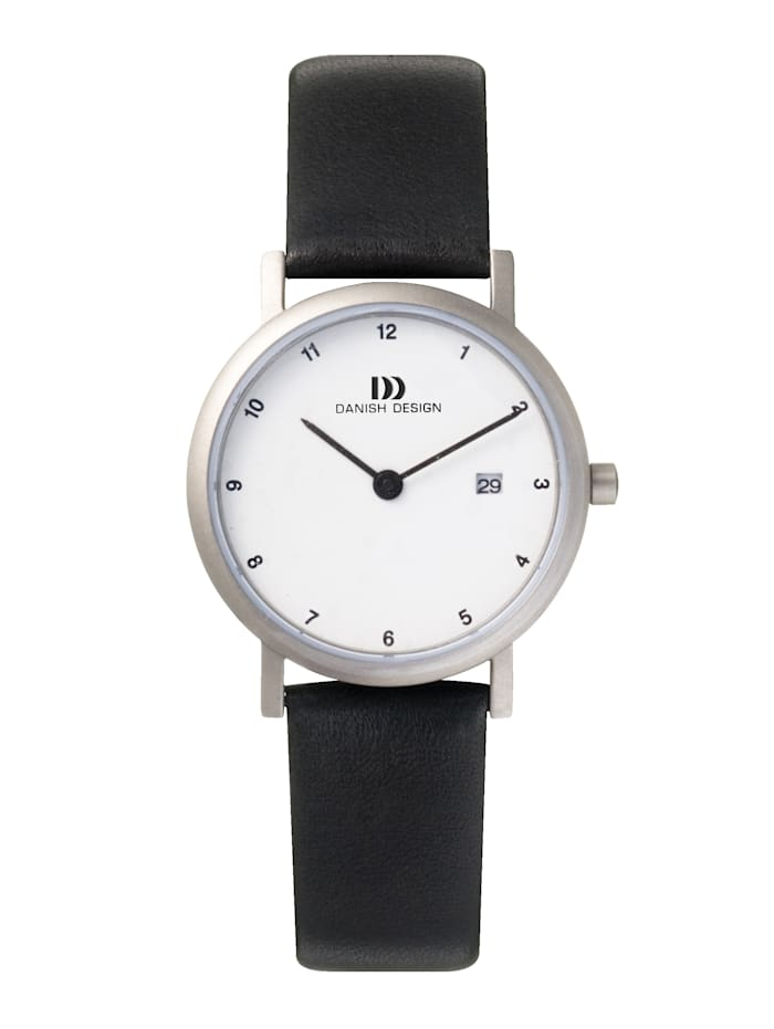 Danish Design Damenuhr 3326301, Schwarz